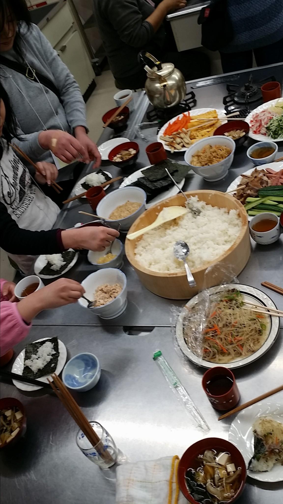 手巻き寿司3
